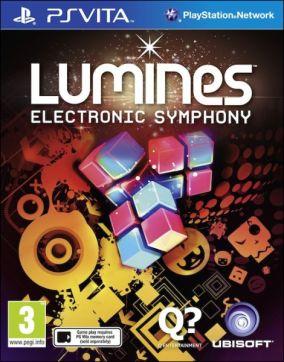 Copertina del gioco Lumines: Electronic Symphony per PSVITA