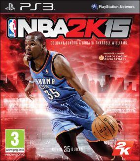Copertina del gioco NBA 2K15 per Playstation 3