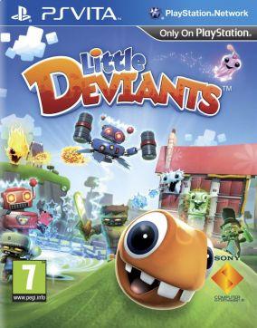 Copertina del gioco Little Deviants per PSVITA