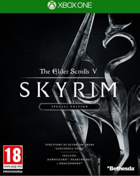 Copertina del gioco The Elder Scrolls V: Skyrim - Special Edition per Xbox One
