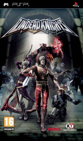 Copertina del gioco Undead Knights per Playstation PSP