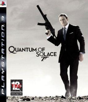 Copertina del gioco James Bond: Quantum of Solace per Playstation 3