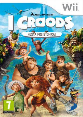 Immagine della copertina del gioco I Croods: Festa Preistorica per Nintendo Wii