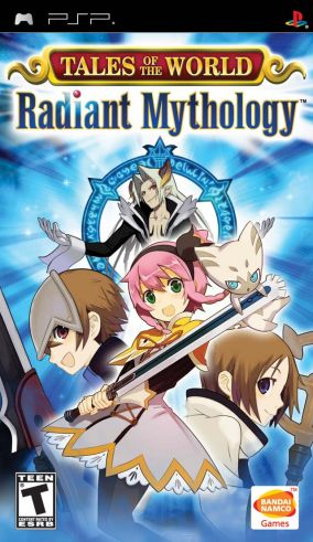 Copertina del gioco Tales of the World: Radiant Mythology per Playstation PSP