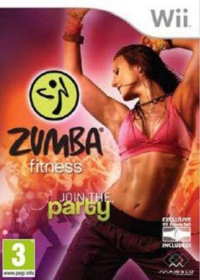 Copertina del gioco Zumba Fitness per Nintendo Wii