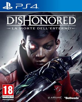 Copertina del gioco Dishonored: La Morte dell'Esterno per Playstation 4