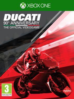 Copertina del gioco Ducati - 90th Anniversary The Official Videogame per Xbox One