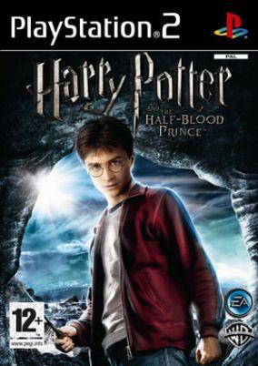 Copertina del gioco Harry Potter e il Principe Mezzosangue per Playstation 2