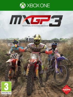 Copertina del gioco MXGP 3: The Official Motocross Videogame per Xbox One