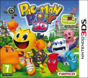 Copertina del gioco Pac-Man Party 3D per Nintendo 3DS