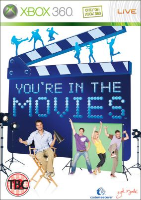 Copertina del gioco You're in the Movies per Xbox 360