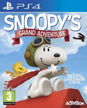 Copertina del gioco La Grande Avventura di Snoopy per Playstation 4