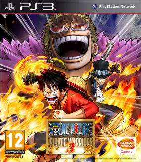 Copertina del gioco One Piece: Pirate Warriors 3 per Playstation 3