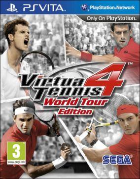 Immagine della copertina del gioco Virtua Tennis 4: World Tour Edition per PSVITA