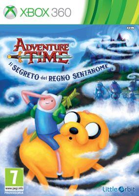 Copertina del gioco Adventure Time: Il segreto del Regno Senzanome per Xbox 360