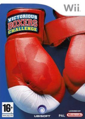Copertina del gioco Victorious Boxers Challenge per Nintendo Wii
