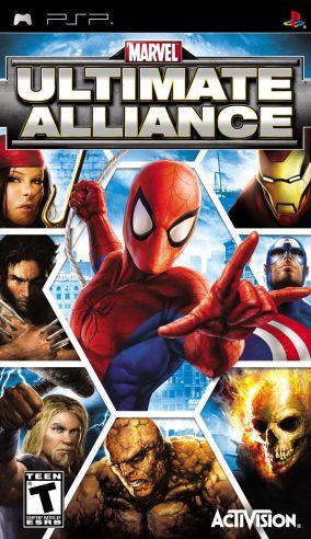 Immagine della copertina del gioco Marvel: La Grande Alleanza per Playstation PSP