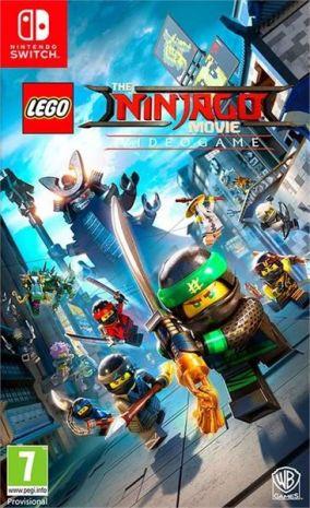 Copertina del gioco LEGO Ninjago Il Film: Video Game per Nintendo Switch