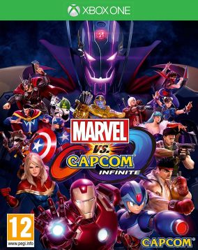 Copertina del gioco Marvel Vs. Capcom: Infinite per Xbox One