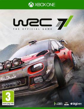 Copertina del gioco WRC 7 per Xbox One