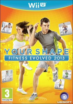 Copertina del gioco Your Shape: Fitness Evolved 2013 per Nintendo Wii U