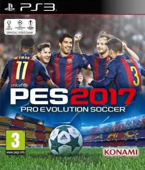 Copertina del gioco Pro Evolution Soccer 2017 per Playstation 3