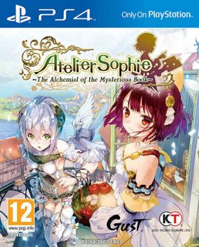 Copertina del gioco Atelier Sophie: The Alchemist of The Mysterious Book per Playstation 4