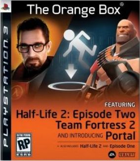 Copertina del gioco Half Life 2: The Orange Box per Playstation 3