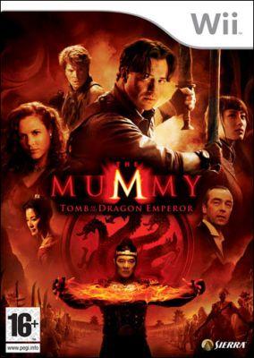 Copertina del gioco La Mummia: La Tomba dell'Imperatore per Nintendo Wii