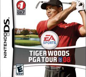Immagine della copertina del gioco Tiger Woods PGA Tour 08 per Nintendo DS