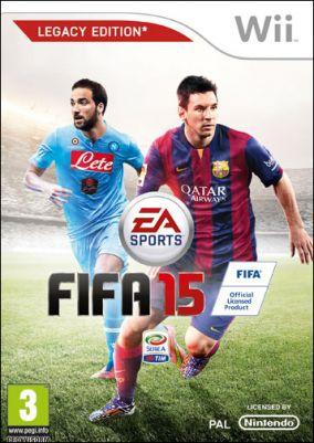 Copertina del gioco FIFA 15 per Nintendo Wii