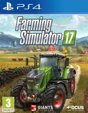 Immagine della copertina del gioco Farming Simulator 17 per Playstation 4