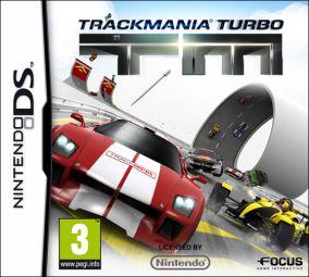 Copertina del gioco TrackMania Turbo per Nintendo DS