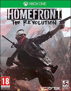 Immagine della copertina del gioco Homefront: The Revolution per Xbox One