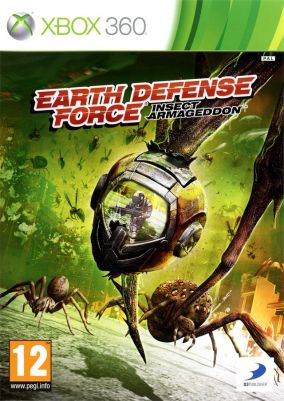 Copertina del gioco Earth Defense Force: Insect Armageddon per Xbox 360