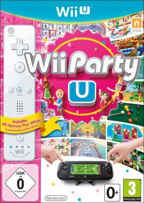 Copertina del gioco Wii Party U per Nintendo Wii U