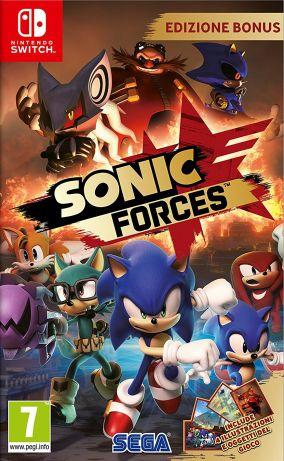 Copertina del gioco Sonic Forces per Nintendo Switch