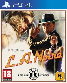 Copertina del gioco L.A. Noire per Playstation 4
