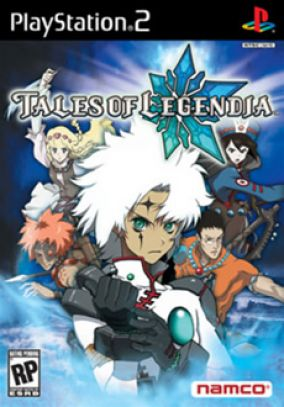 Copertina del gioco Tales of Legendia per Playstation 2