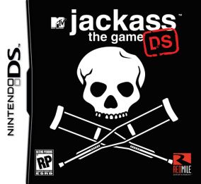 Copertina del gioco Jackass: The Game per Nintendo DS