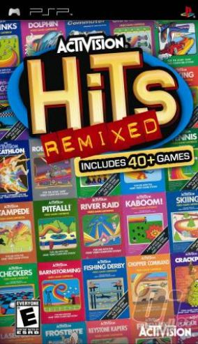 Copertina del gioco Activision Hits Remixed per Playstation PSP