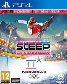 Copertina del gioco Steep: Winter Games Edition per Playstation 4