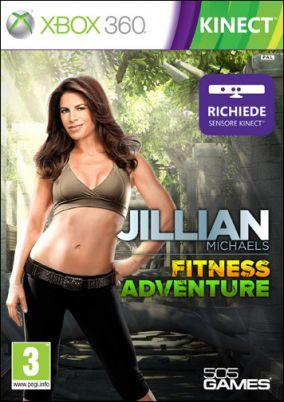 Copertina del gioco Jillian Michaels' Fitness Adventure per Xbox 360