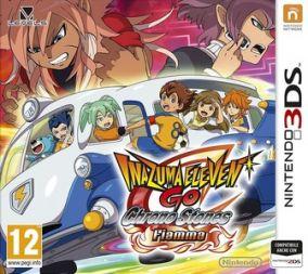Copertina del gioco Inazuma Eleven Go: Chrono Stones fiamma per Nintendo 3DS