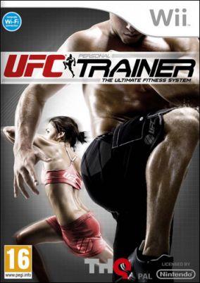 Copertina del gioco UFC Personal Trainer: The Ultimate Fitness System per Nintendo Wii
