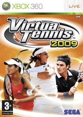 Copertina del gioco Virtua Tennis 2009 per Xbox 360