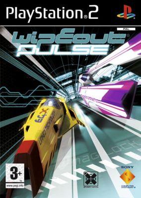 Copertina del gioco Wipeout Pulse per Playstation 2