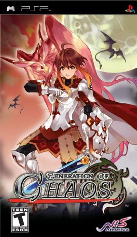 Copertina del gioco Generation of Chaos per Playstation PSP