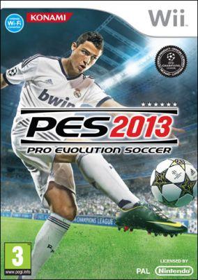 Copertina del gioco Pro Evolution Soccer 2013 per Nintendo Wii