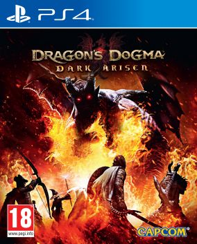 Copertina del gioco Dragon's Dogma: Dark Arisen per Playstation 4